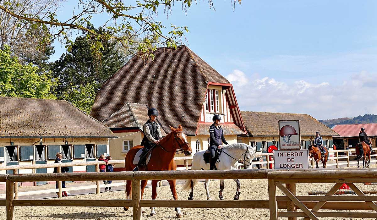 Cours compétition cheval