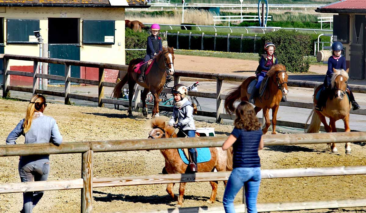 galop Cours poney