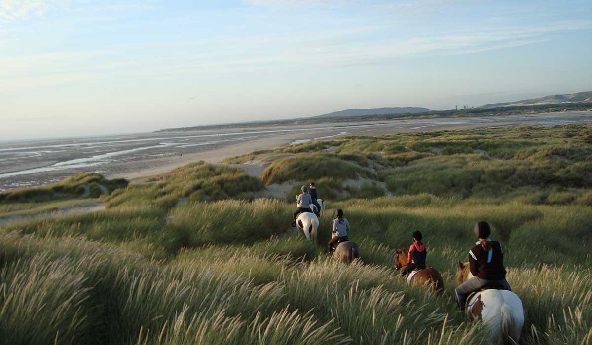balade dunes cheval galop 2